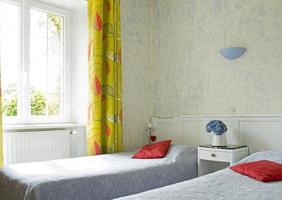 chambre de Laurine lits doubles