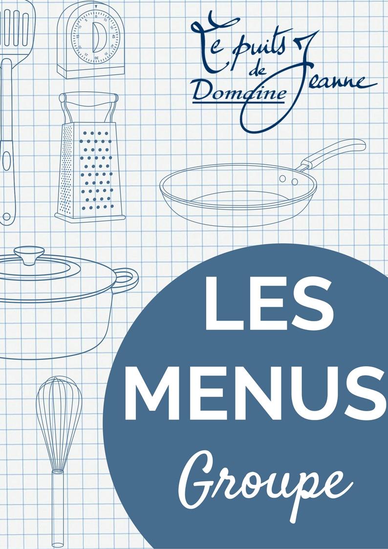 menu groupe